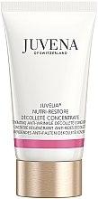 Parfumuri și produse cosmetice Concentrat pentru gât și decolteu - Juvena Juvelia Nutri Restore Decollete Concentrate (tester)
