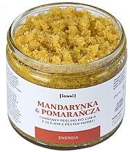"""Parfumuri și produse cosmetice Peeling de zahăr pentru corp """"Mandarine și portocale"""" - Iossi Body Scrub"""