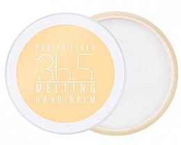 """Parfumuri și produse cosmetice Balsam de mâini """"Puritatea inului"""" - A'Pieu 36.5 Melting Hand Balm Purity Linen"""