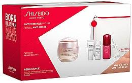 Parfumuri și produse cosmetice Set - Shiseido Benefiance (cr/50ml + foam/5ml + lot/7ml + conc/10ml + eye/cr/2ml + bag/1)