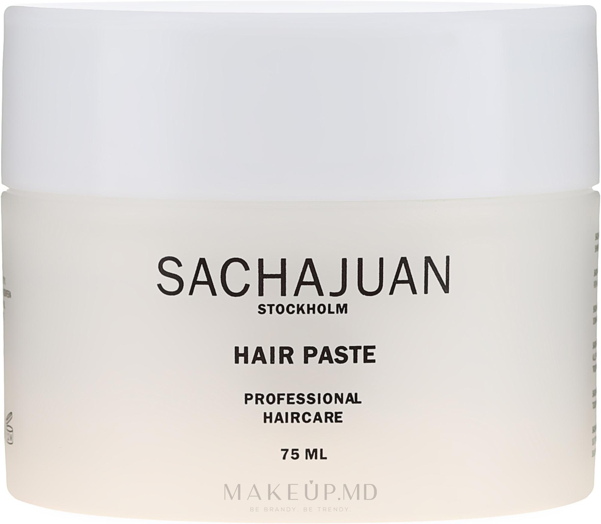 Pastă de păr - Sachajuan Stockholm Hair Paste — Imagine 75 ml