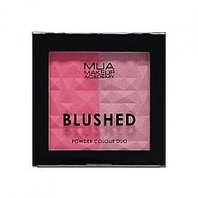 Parfumuri și produse cosmetice Fard dublu pentru obraz - MUA Blushed Powder Colour Duo