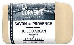 """Parfumuri și produse cosmetice Săpun provensal """"Ulei de argan"""" - La Corvette Provence Soap Argan Oil"""