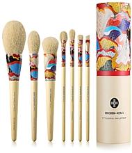 Parfumuri și produse cosmetice Set pensule pentru machiaj, 7 buc - Eigshow Essential Series Yellow Fresher Brush Kit