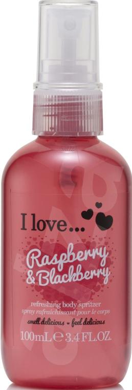 Spray revigorant pentru corp - I Love... Raspberry & Blackberry