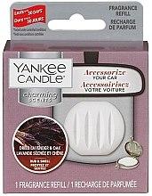 Parfumuri și produse cosmetice Aromatizator auto (rezervă) - Yankee Candle Dried Lavender & Oak Charming Scents Refill