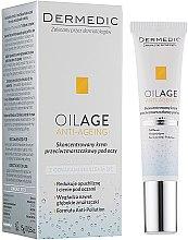 Parfumuri și produse cosmetice Cremă pentru pleoape - Dermedic Oilage Concentrated Anti-Wrinkle Eye Cream