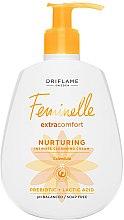 Parfumuri și produse cosmetice Cremă-gel pentru igienă intimă - Oriflame Feminelle Nurturing Intimate Cream