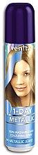 Parfumuri și produse cosmetice Spray nuanțator cu efect temporar pentru păr - Venita 1-Day Color Metallic Spray