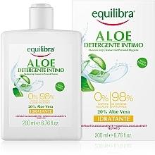 Parfumuri și produse cosmetice Gel hidratant pentru igiena intimă - Equilibra Aloe Moisturizing Cleanser For Personal Hygiene