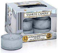 Parfumuri și produse cosmetice Lumânări - Yankee Candle Scented Tea Light Candles A Calm & Quiet Place