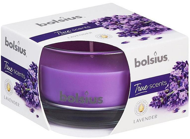 """Lumânare aromatică """"Lavandă"""", 50x80 mm - Bolsius"""