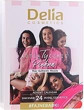 Parfumuri și produse cosmetice Advent Calendar - Delia Cosmetics Calendar 2020/2021