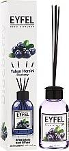 """Parfumuri și produse cosmetice Difuzor de aromă """"Afine"""" - Eyfel Perfume Reed Diffuser Blueberry"""