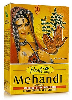 Henna pulbere pentru păr - Hesh Mehandi Powder