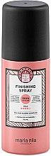 Parfumuri și produse cosmetice Lac de păr, fixare medie - Maria Nila Finish Spray