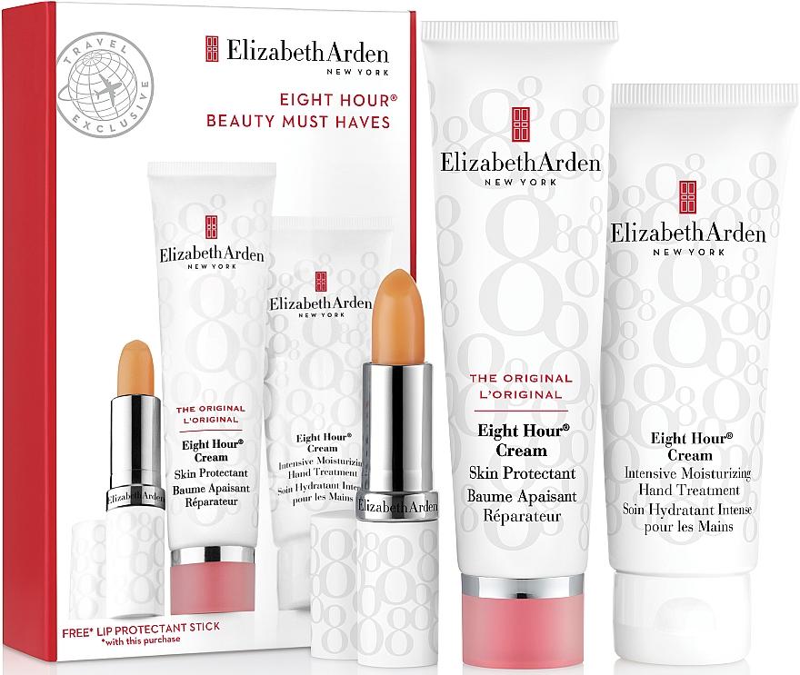 Set - Elizabeth Arden Eight Hour Beauty Must Haves Set (b/cr/50ml + l/balm/3,7g + h/cr/75ml) — Imagine N1