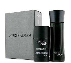 Parfumuri și produse cosmetice Giorgio Armani Armani Code - Set (edt 75ml + deo 75ml)
