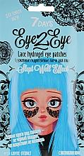 "Духи, Парфюмерия, косметика Mască hidrogel ""Dantelă"" cu extract de cafea - 7 Days Eye2Eye Lace Hydrogel Eye Patches"