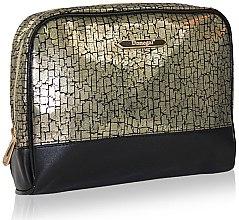 Parfumuri și produse cosmetice Trusă cosmetică 4971, negru-auriu - Donegal