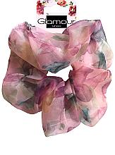 Parfumuri și produse cosmetice Elastic de păr, 417615, roz - Glamour