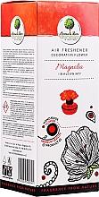 """Parfumuri și produse cosmetice Odorizant de aer, floare """"Magnolia și flori albe"""" - Aroma & More Air Freshener"""