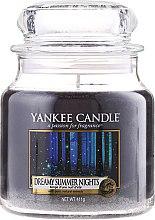 Parfumuri și produse cosmetice Lumânare în borcan din sticlă - Yankee Candle Dreamy Summer Nights