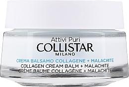 Parfumuri și produse cosmetice Cremă-balsam cu colagen și malachit pentru față - Collistar Pure Actives Collagen + Malachite Cream Balm (tester)