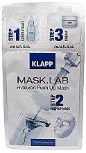 Parfumuri și produse cosmetice Mască de față - Klapp Mask Lab Hyaluron Push Up Mask