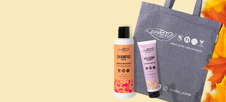 La achiziționarea produselor PuroBio Cosmetics începând cu suma de 365 MDL, primești cadou o geantă-shopper