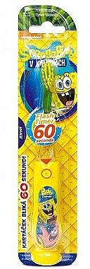 Periuța de dinți cu cronometru, pentru copii - VitalCare Sponge Bob Toothbrush