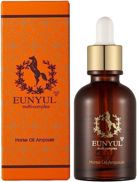 Ser facial cu ulei de cal - Eunyul Multi-Complex Horse Oil Ampoule — Imagine N1