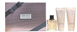 Parfumuri și produse cosmetice Jimmy Choo Illicit Flower - Набор (edt 100ml + b/l 100ml + s/g 100ml)