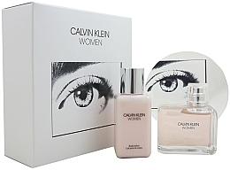 Parfumuri și produse cosmetice Calvin Klein Women - Set (edp/100ml + b/lot/100ml)