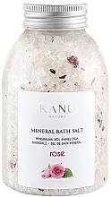 """Духи, Парфюмерия, косметика Минеральная соль для ванны """"Роза"""" - Kanu Nature Rose Mineral Bath Salt"""