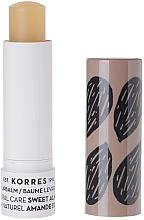 """Parfumuri și produse cosmetice Balsam de buze """"Migdală dulce"""" - Korres Lip Balm Sweet Almond"""