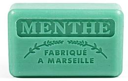 """Parfumuri și produse cosmetice Săpun de Marsilia """"Mentă"""" - Foufour Savonnette Marseillaise Menthe"""