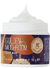 Parfumuri și produse cosmetice Mască coreeană pentru față - Avon Korean Beauty Golden Mushroom Sleep Mask