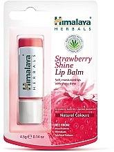 """Parfumuri și produse cosmetice Balsam pentru buze """"Căpșună"""" - Himalaya Herbals Strawberry Shine Lip Balm"""