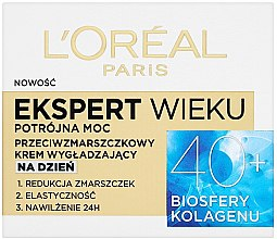 Parfumuri și produse cosmetice Cremă de zi pentru față - L'Oreal Paris Age Specialist Expert Day Cream 40+