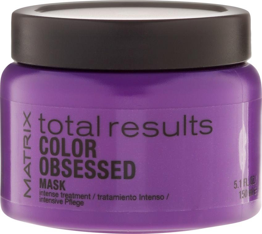 Mască pentru întreținerea culorii părului vopsit - Matrix Total Results Color Obsessed Mask