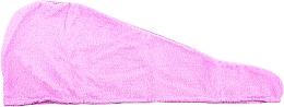 Parfumuri și produse cosmetice Turban din microfibra, violet - Deni Carte