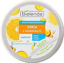 Parfumuri și produse cosmetice Cremă hidratantă pentru față și corp cu vitamina C - Bielenda Universal Cream Vitamin C