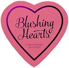 Parfumuri și produse cosmetice Fard de obraz - I Heart Revolution Blushing Hearts Blusher