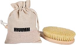 Parfumuri și produse cosmetice Perie de masaj corporal, cu fibră tampico, extra lungă - Hhuumm № 5