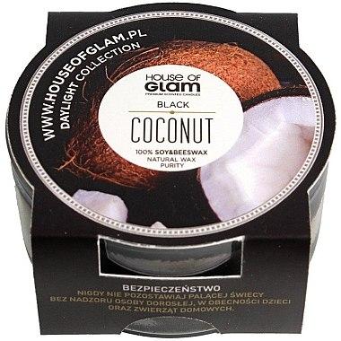 Lumânare parfumată - House of Glam Black Coconut Candle (mini) — Imagine N1