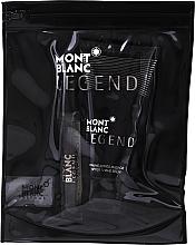 Parfumuri și produse cosmetice Montblanc Legend - Set (edt/7,5 ml + a/sh/b/50 ml + bag)