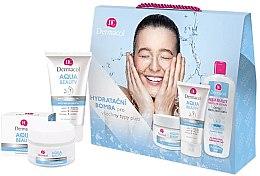 Parfumuri și produse cosmetice Set - Dermacol Aqua Beauty (cr/50ml + gel/150ml + lotion/400ml)