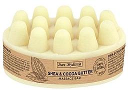 Parfumuri și produse cosmetice Unt pentru masaj - Stara Mydlarnia Body Mania Shea & Cocoa Butter Massage Bar