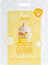 """Parfumuri și produse cosmetice Mască de față """"Cupcake"""" cu banane și vanilie - 7 Days Candy Shop"""
